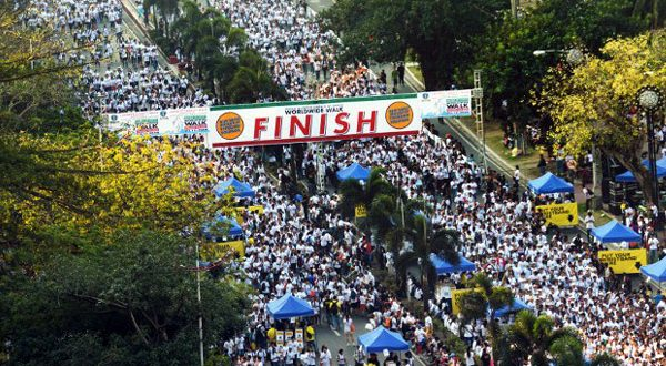 World's Largest Charity Walk/Run