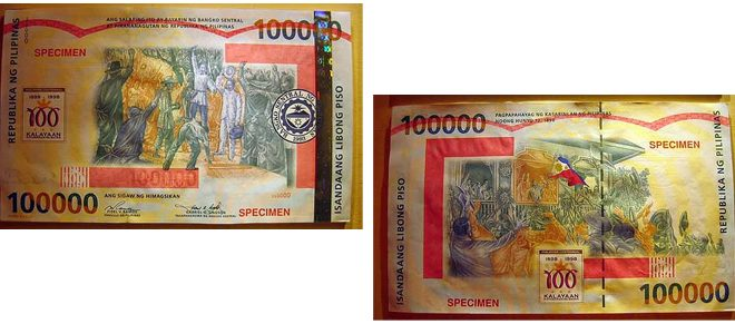 World's Largest Legal Banknote