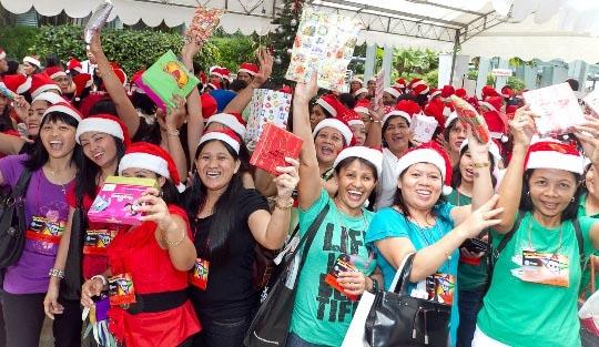 Largest Secret Santa Game (Multiple Venues)