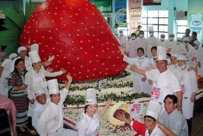 World's Largest Fruit Shortcake
